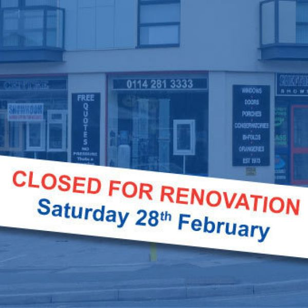 Showroom Renovations - Sat 28th Feb