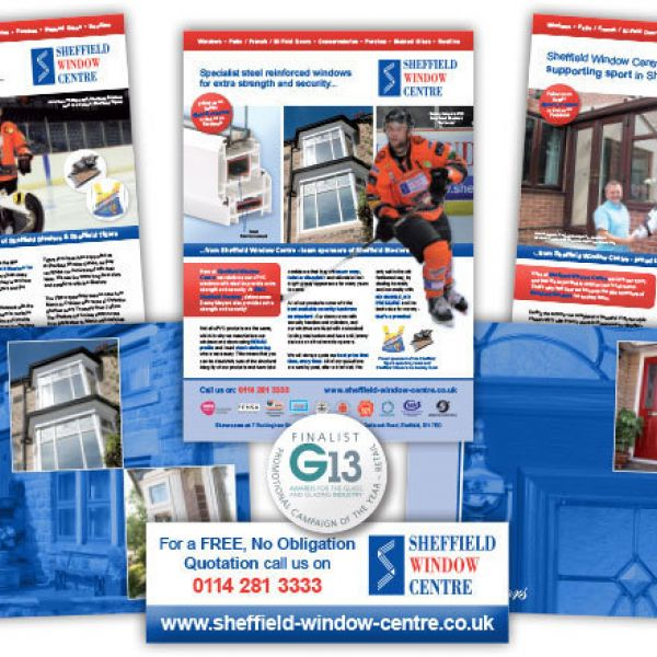 Sheffield Window Centre announced as finalist at G13 Awards 2013