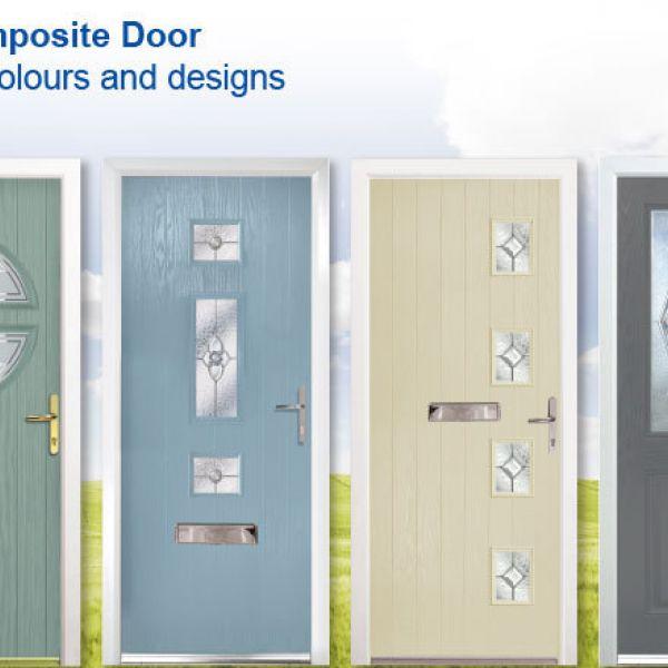 NEW Composite Door bespoke colours and designs