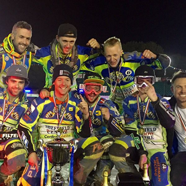 Congratulations to Sheffield Tigers Speedway Team