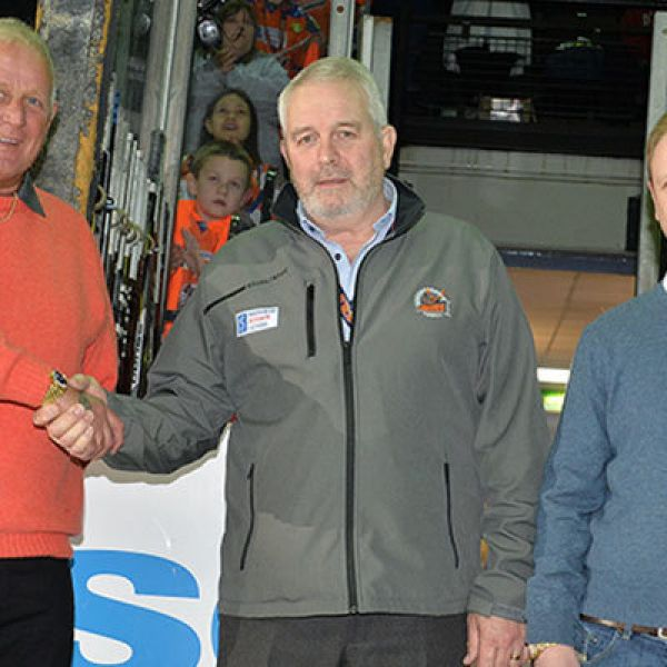 Sponsorship of Sheffield Steelers for an 8th Season